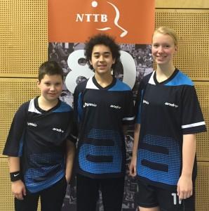 Martijn, Victor & Denise op het Landelijk Jeugdklassentoernooi in Zwolle