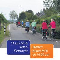 Rabo fietstocht 2016
